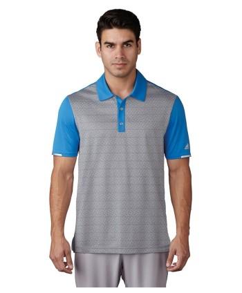 Pánske golfové tričko Adidas ClimaChill Tri-Geo Print