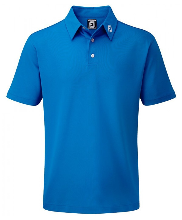 FootJoy Mens Stretch Pique Solid Colour Athletic Fit Polo Shirt