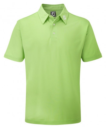 FootJoy Mens Stretch Pique Solid Colour Athletic Fit Polo Shirt
