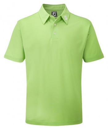 Pánské golfové triko FootJoy Stretch Pique Solid Colour