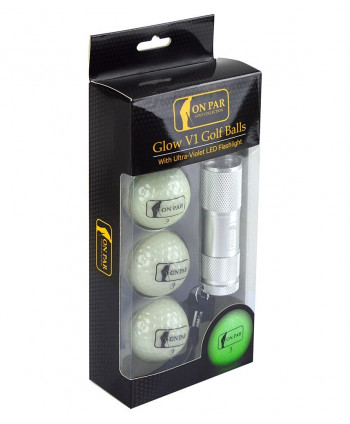 On Par UV Golf Ball Gift Set