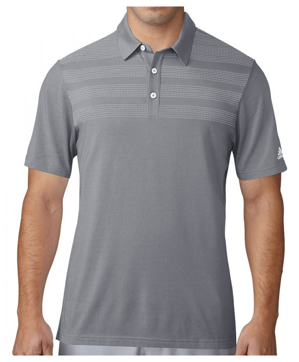 Adidas Mens Body Mapped Competition Polo Shirt