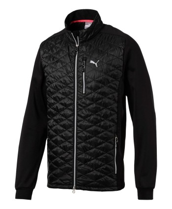Puma Mens PWRWarm Quilted Hybrid Jacket