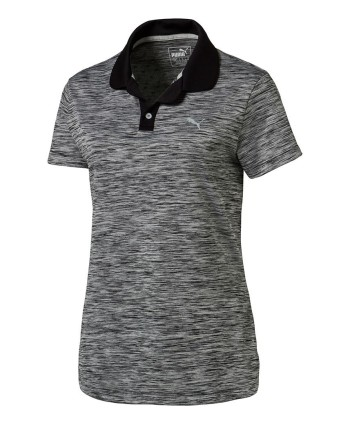 Puma Ladies Tuck Stitch Polo Shirt