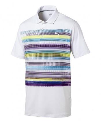 Pánske golfové tričko Puma Pixel Polo Shirt 2017