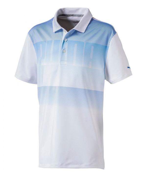 Dětské golfové triko Puma Logo Polo Shirt 2018