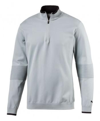 Pánska golfová mikina Puma Evoknit Seamless Quarter Zip Sweater