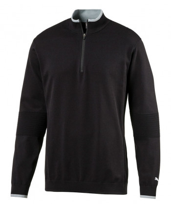 Puma Mens Evoknit Quarter Zip Sweater