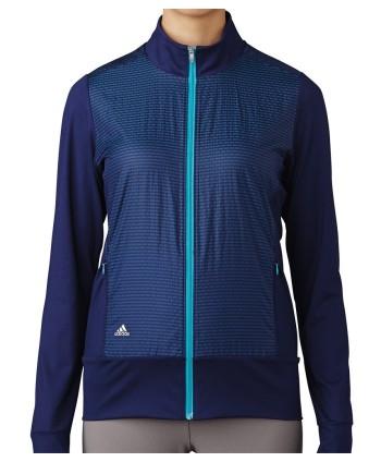 Dámská golfová buna Adidas Wind Tech Full Zip Jacket 2017