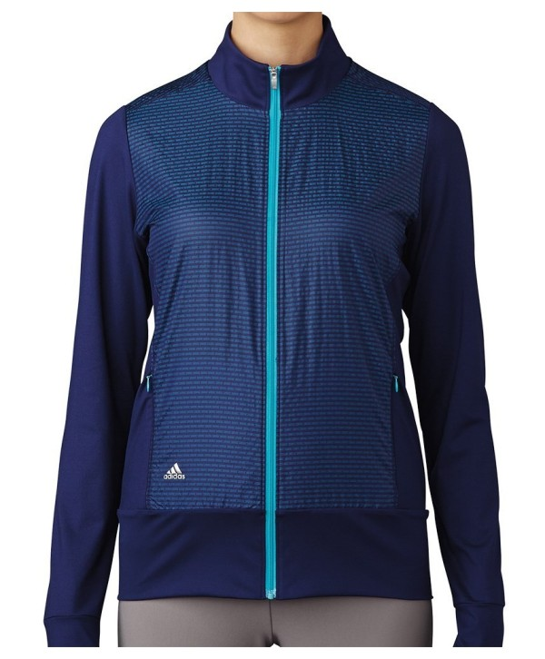 Adidas Ladies Wind Tech Full Zip Jacket