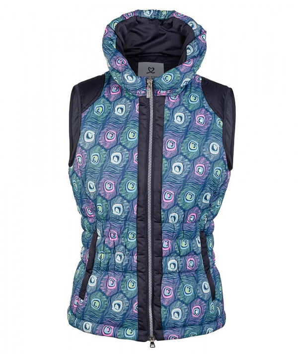 Daily Sports Ladies Peacock Wind Vest