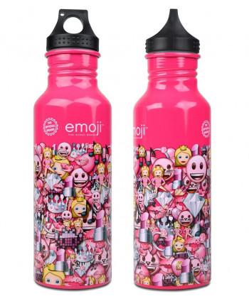 Fľaša na pitie Emoji