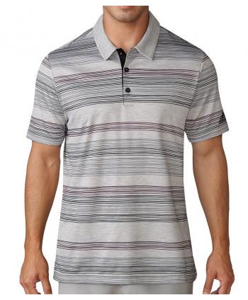 Adidas Mens Hand Drawn Pique Polo Shirt