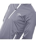 Callaway Mens Nautical Thermal 1/4 Zip Stretch Fitted Jacket
