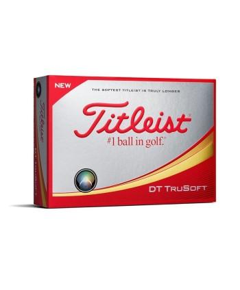 Golfové míčky Titleist DT TruSoft 2018 (12 ks)