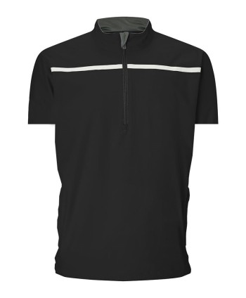 Callaway Mens Half Zip Chest Stripe Wind Jacket