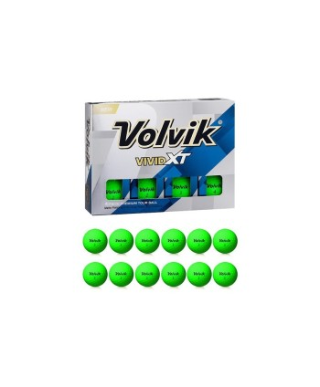 Golfové míčky Volvik Vivid XT (12 ks)