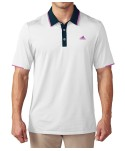 Adidas Mens ClimaCool Crestable Vented Polo Shirt
