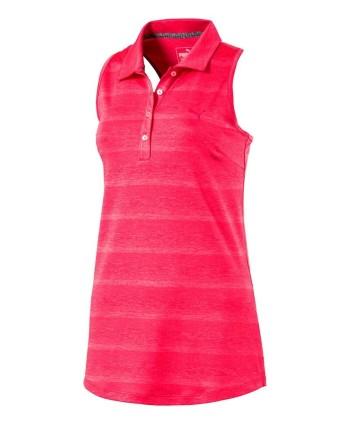 Puma Ladies Pounce Sleeveless Polo Shirt