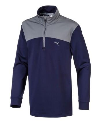 Dětská golfová mikina Puma Quarter Zip Pullover 2018