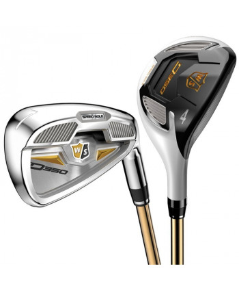 Wilson Staff Ladies D350 Hybrid Combo Set (Graphite Shaft)
