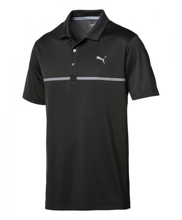 Pánské golfové triko Puma Evoknit Seamless Polo Shirt 2017