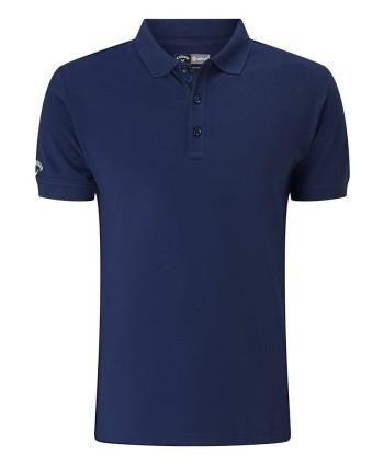 Dětské golfové triko Callaway Stretch Solid Polo Shirt 2018