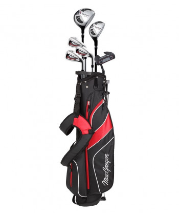 MacGregor Mens CG2000 Half Package Set (Steel/Graphite)