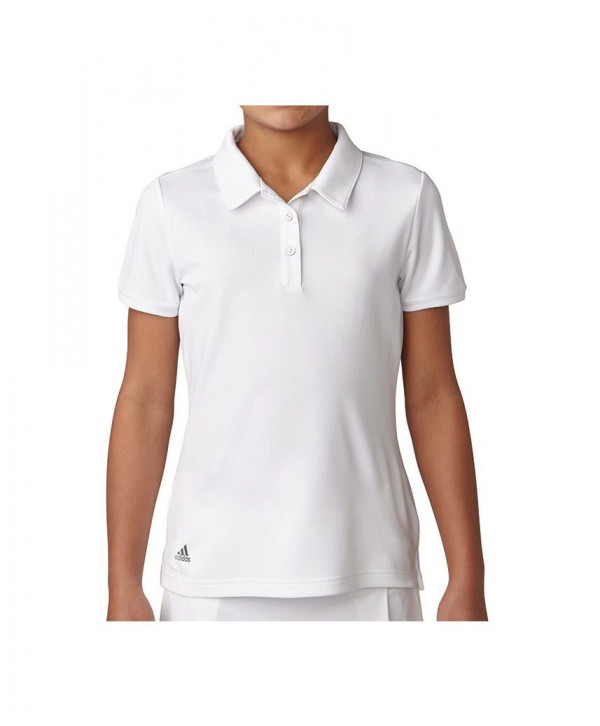 Dívčí golfové triko Adidas Short Sleeve Solid