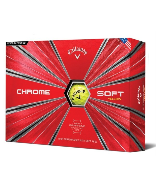 Golfové míčky Callaway Chrome Soft 58 (12 ks)