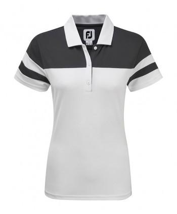 Dámske golfové tričko FootJoy Smooth Pique Colour Block
