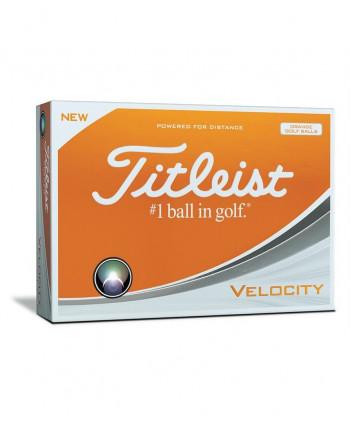 Golfové loptičky Titleist Velocity Orange (12ks)