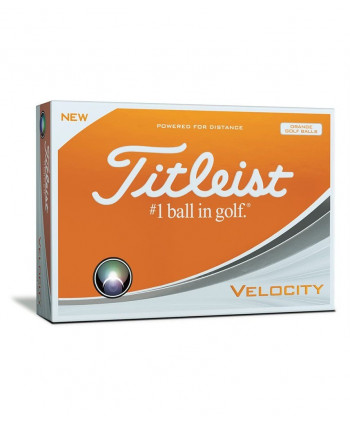 Titleist Velocity Pink Golf Balls (12 Balls) 2018