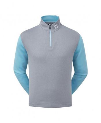 Pánská golfová mikina FootJoy Double Layer Knit Contrast Chill Out