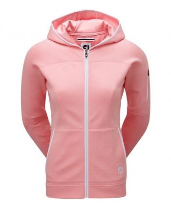 Dámska golfová mikina FootJoy Full Zip Hoodie 2018