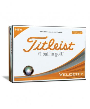 Dvojciferné golfové míčky Titleist Velocity (12ks)