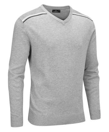 Pánský svetr Stuburt Hydro-Sport V Neck Sweater 2018