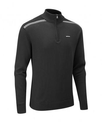Pánsky sveter Stuburt Hydro-Spor Half Zip Sweater 2018