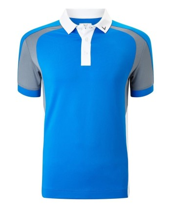 Dětské golfové triko Callaway 3 Colour Blocked 2018