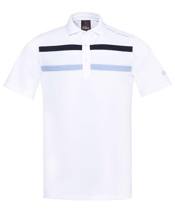 Pánské golfoé triko Callaway X Range Chest Piped Polo Shirt 2017