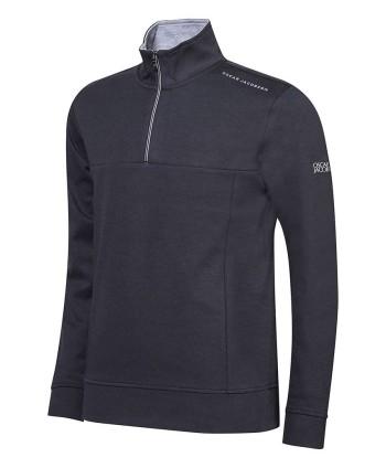Oscar Jacobson Mens Hawkes Course Half Zip Pullover