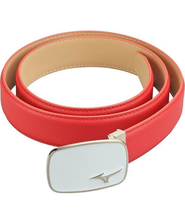 Mizuno Plain Leather Belt