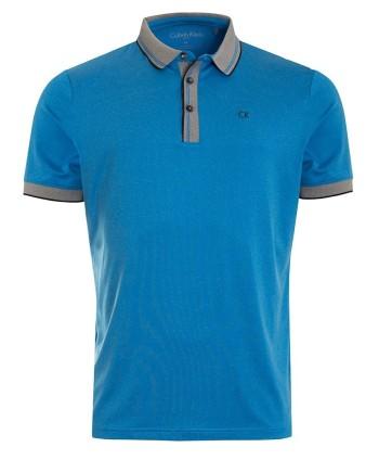 Calvin Klein Mens Parallel Polo Shirt