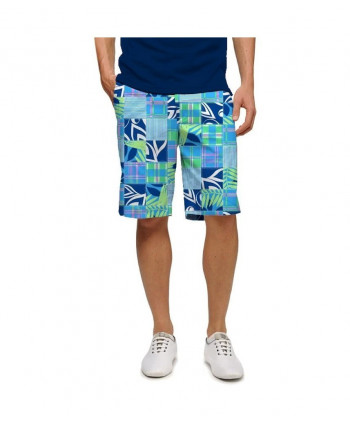 LoudMouth Mens Shooting Stars StretchTech Shorts