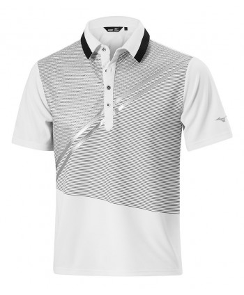 Mizuno Mens Solar Cut Print Polo Shirt