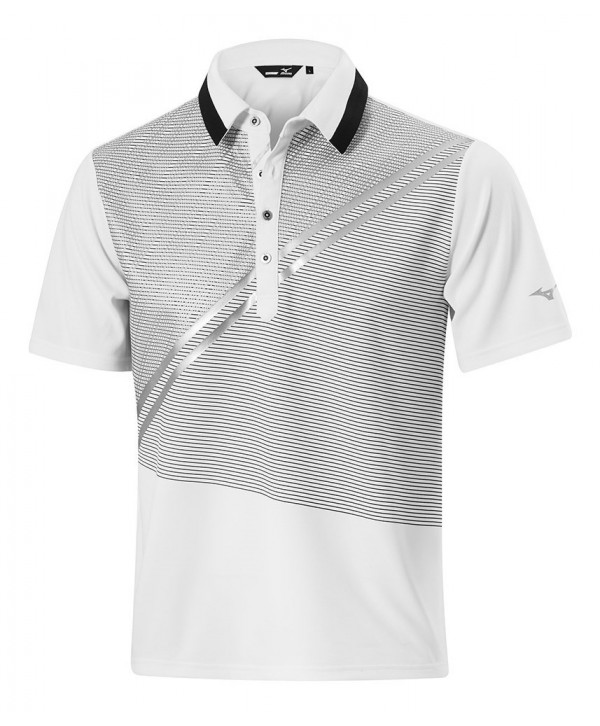 Pánské golfové triko Mizuno Stretch 2018