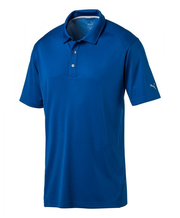 Puma Mens Cresting Tech Polo