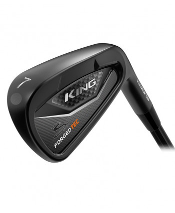 Cobra King LTD Forged Tec Black Irons (Steel Shaft)