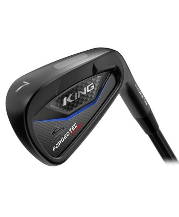 Cobra King LTD Forged Tec Black One Length Irons (Steel Shaft)