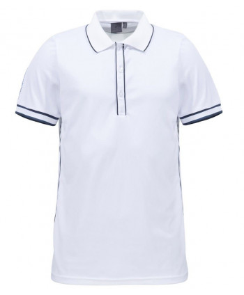 Cross Mens Geo Stripe Polo Shirt
